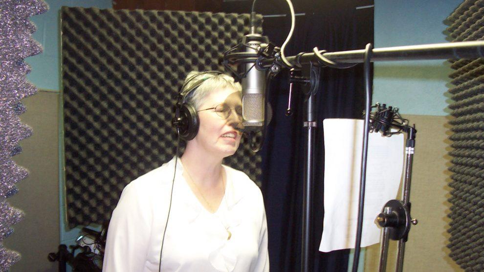 Sharon Huckel - Courts of Praise recording